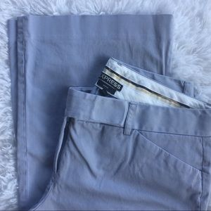 Express Periwinkle Editor Dress Pants